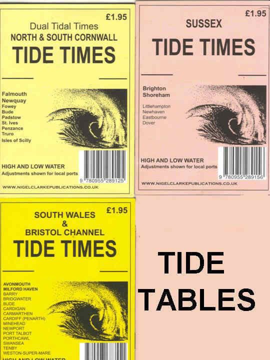 TIDE TABLES FOR A SAFE BEACHCOMBING OR DIVE