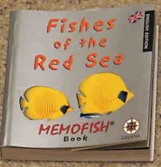 FISHES OF THE RED SEA - A Memofish Pocketbook
