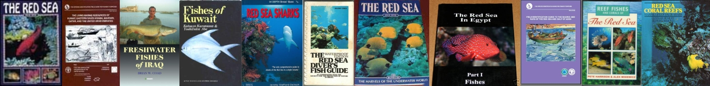 Books on Rerd Sea and Arabian Fishes. Fishes of Arabia and Iraq