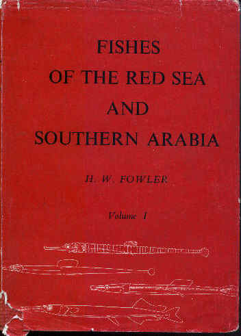 Fishes of the Red Sea and Southern Arabia