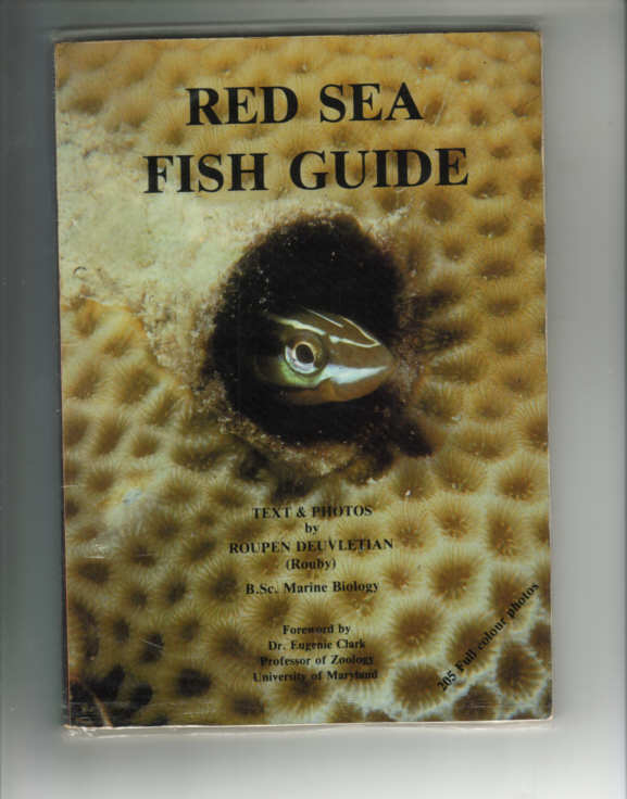 RED SEA FISH GUIDE by Roupen Deuvletian